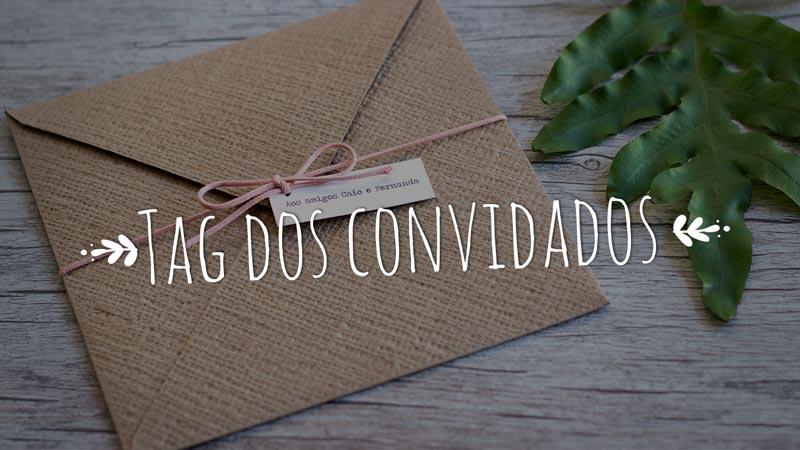 Como escrever o nome dos convidados no convite de casamento?
