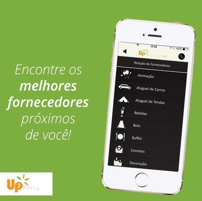 Up2Party - Baixe o aplicativo e gerencie e sua festa de casamento pelo celular