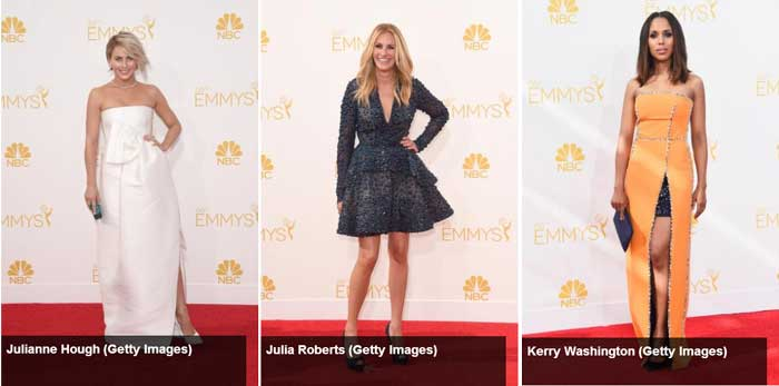 Os vestidos do Emmy Awards 2014